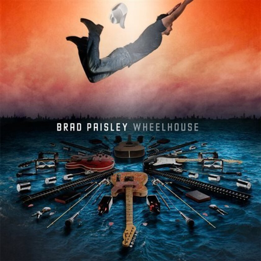 """This CD cover image released by Sony Nashville/Arista shows """"Wheelhouse,"""" by Brad Paisley. (AP Photo/Sony Nashville/Arista)"""