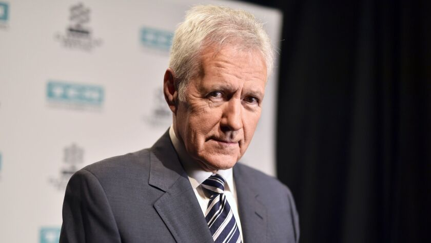 "Alex Trebek has written a new memoir: ""The Answer Is ... Reflections on My Life."""