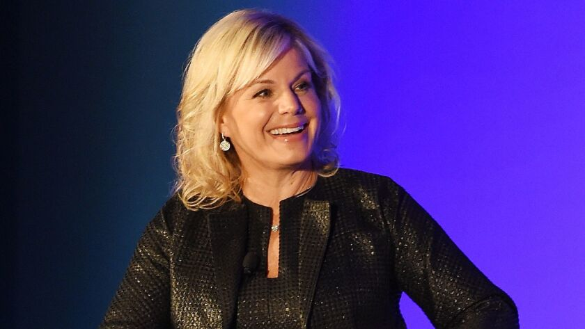 Former Fox News anchor Gretchen Carlson in February.