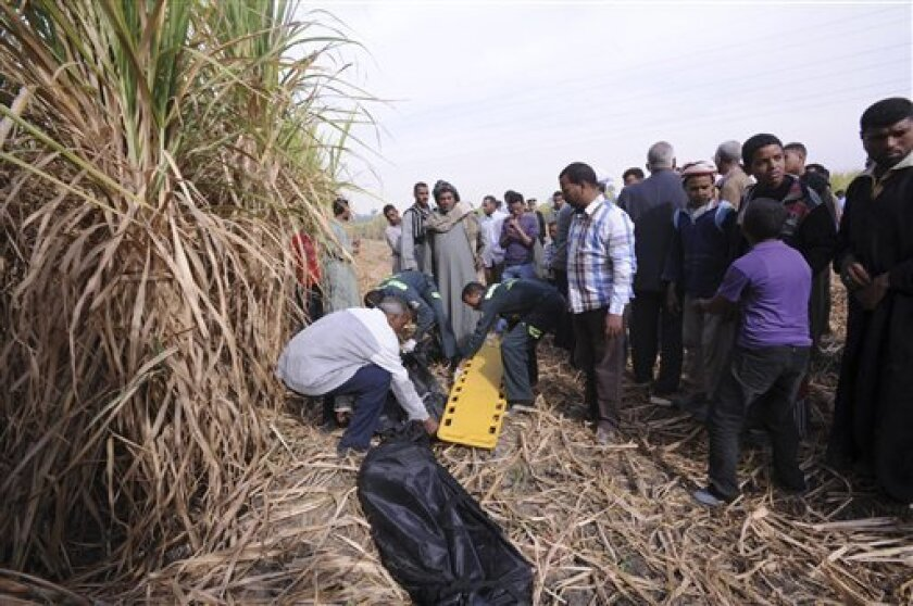 Egypt hot air balloon crash death toll rises to 19 - The San