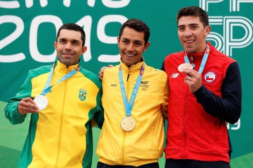 Oros para Colombia y EE.UU. en el ciclismo contrarreloj panamericano