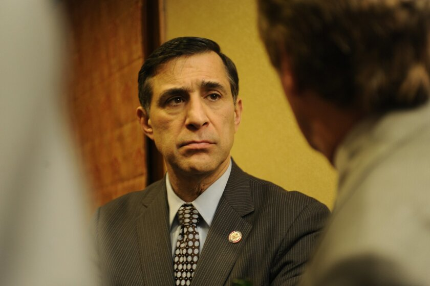 Rep. Darrell Issa, R-Bonsall, voted against certifying the presidential election results in Arizona and Pennsylvania.