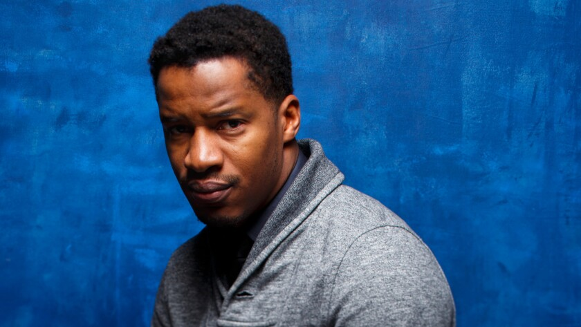 """""""The Birth of a Nation"""" director Nate Parker at the 2016 Sundance Film Festival."""