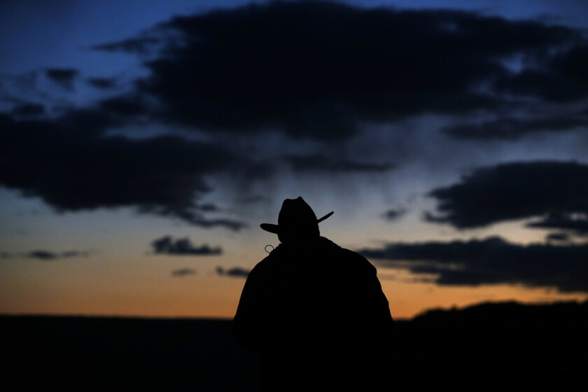 A silhouette that reflects the West.