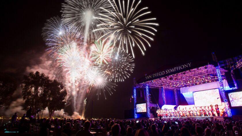 San Diego Symphony's Bayside Summer Nights