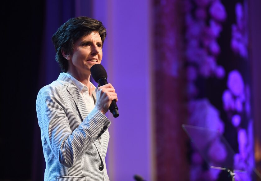 "A photo of Tig Notaro in 2017 at WCRF's ""An Unforgettable Evening"" presented By Saks Fifth Avenue"