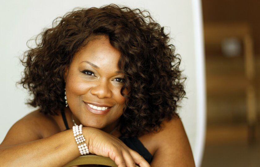 "Soprano Latonia Moore makes her San Diego Opera debut in the title role of ""Aida."""