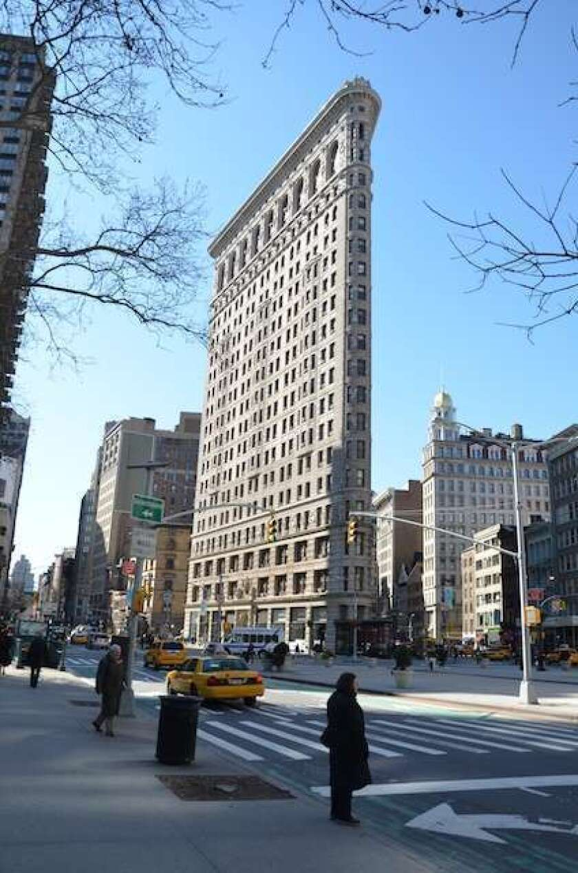 New York's Flatiron Building is based on a right triangle. So the National Museum of Mathematics is using it to celebrate its one-year anniversary, on a date that is a Pythagorean triple.