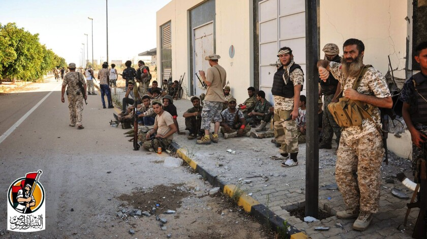 Islamic State Libya Surt
