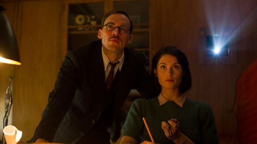 "Sam Clafin and Gemma Arterton star in ""Their Finest."""