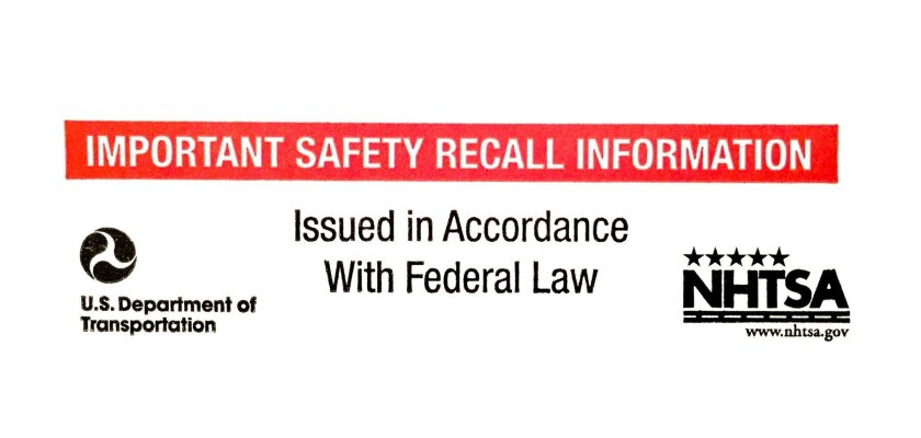 Recall notice from Ford.
