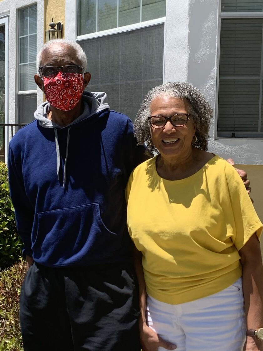 Mack and Barbara Jones, parents of Tayari.