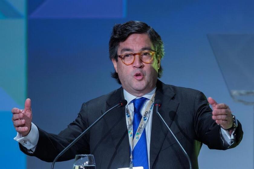 El presidente del Banco Interamericano de Desarrollo (BID), el colombiano Luis Alberto Moreno. EFE/Archivo