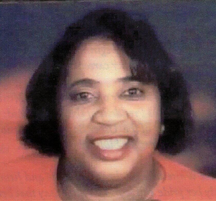 A family photo of Carol Waites, who was slain in a gang shooting on New Year's Day 2003.