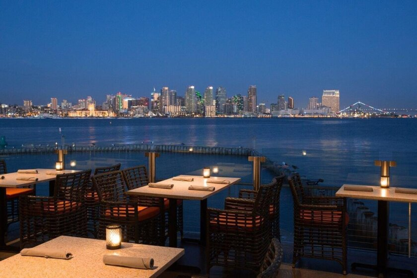 One of San Diego's most spectacular new restaurants sits on the south tip of Harbor Island, offering unobstructed bay views of downtown San Diego and Coronado. Coasterra offers 28,000 square feet of dining and special-events space and a modern Mexican menu. 880 Harbor Island Drive, Harbor Island. (619) 814-1300 or cohnrestaurants.com (PAM KRAGEN)