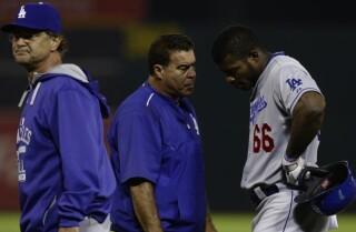 Bill Plaschke: A tough loss for the Dodgers