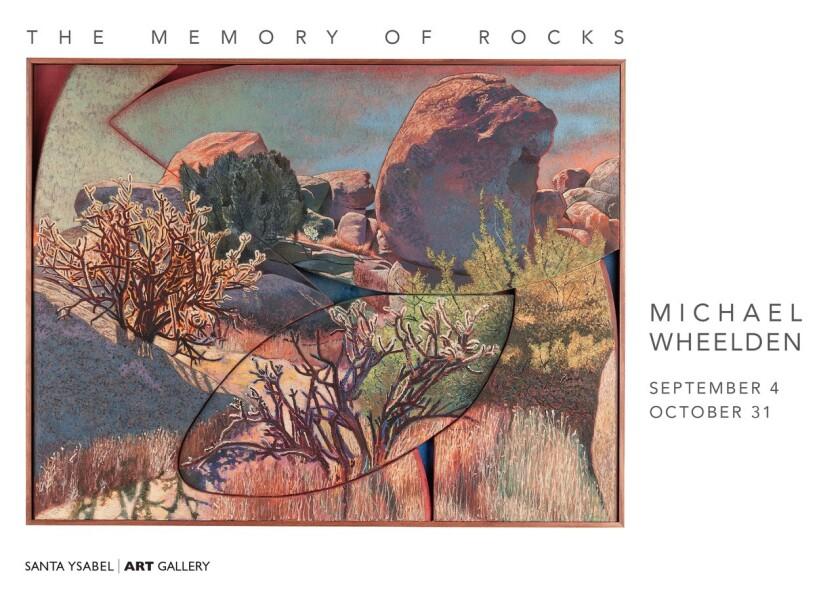 """""""Memory of Rocks"""" exhibit at Santa Ysabel Art Gallery"""