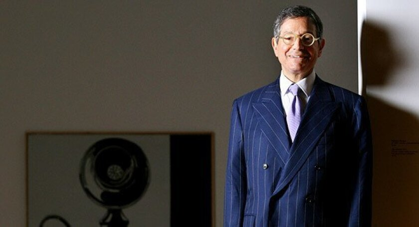 It was not clear whether Jeffrey Deitch, whose resignation comes slightly more than three years into his five-year contract, has committed to stay until a new director is on the job.