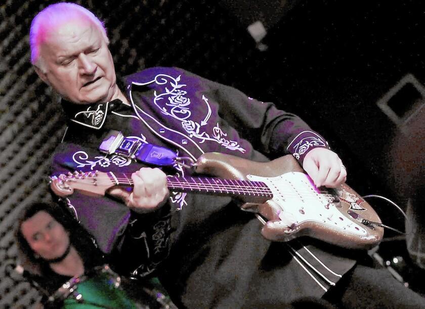 Surf guitar originator Dick Dale performs this week at Joe's Great American in Burbank.