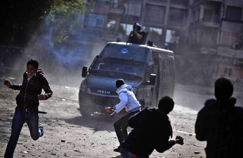In Egypt, court offensive is met with countermove by assembly