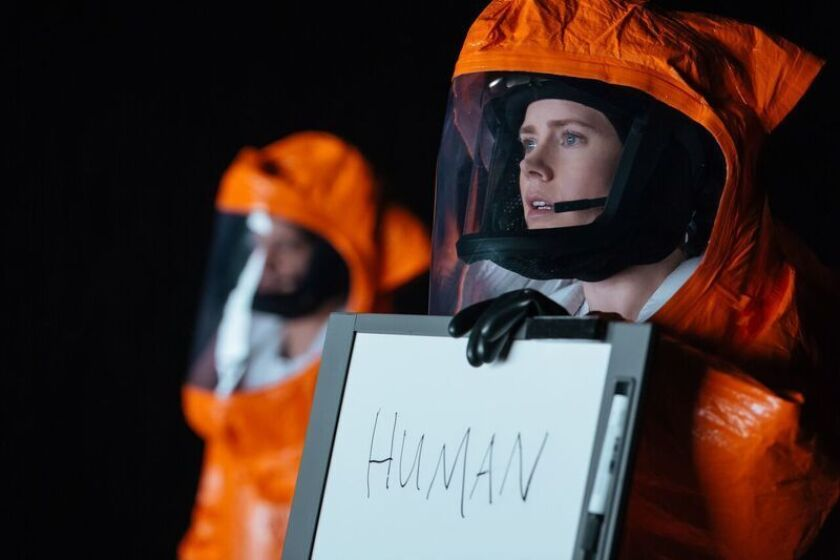 Amy Adams stars as a linguist in 'Arrival,' now playing in theaters nationwide.