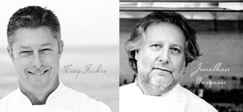 """Trey Foshee is the quintessential chef--reserved, talented, and passionate,"" said his New York peer, Jonathan Waxman (right)."