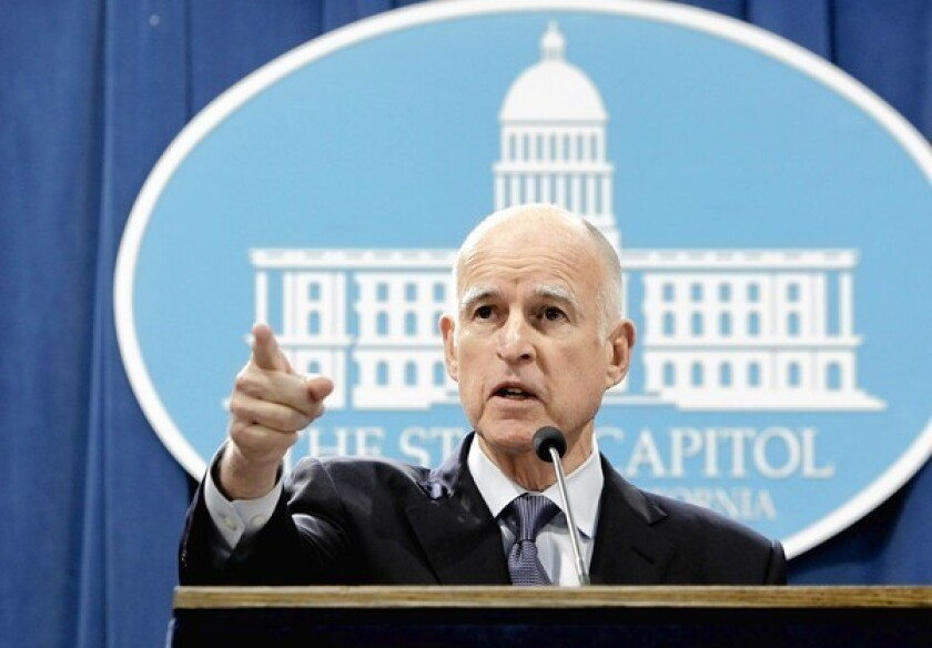"""To those who doubted that Proposition 30 would pass, Gov. Jerry Brown said: """"Some people began to read tea leaves incorrectly."""""""