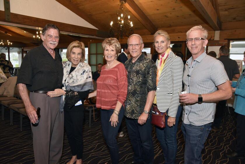 Paul and Maria McEneany, Patti Harman and Pastor Bill Harman, Andra Moran, Bobby Edelman