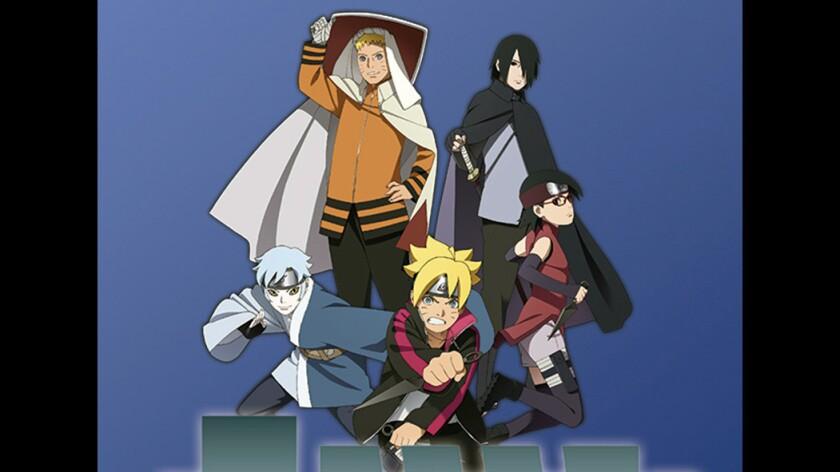 """The animated movie """"Boruto: The Naruto Movie"""""""