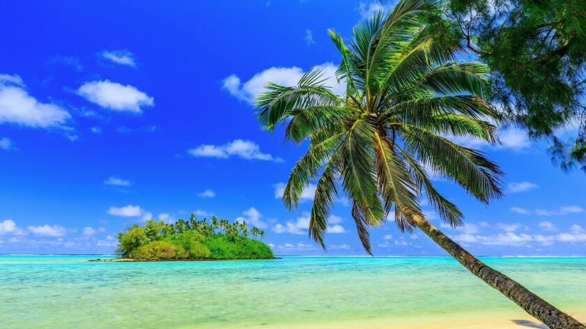 You can fly round-trip on Air New Zealand from LAX to the Cook Islands for $593.