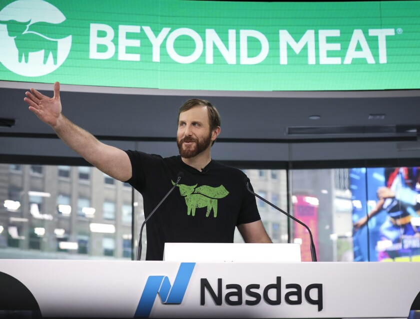 Meatless Burger company Beyond Meat