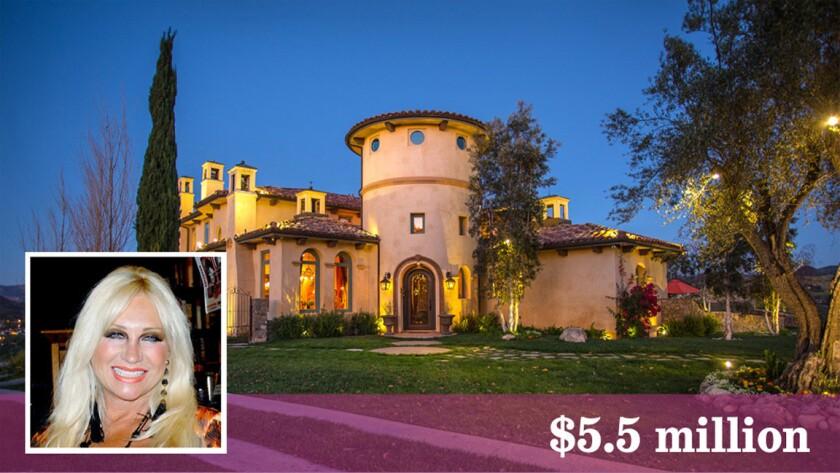 Linda Hogan, the former wife of wrestler Hulk Hogan, has listed her Simi Valley estate for sale at $5.5 million.