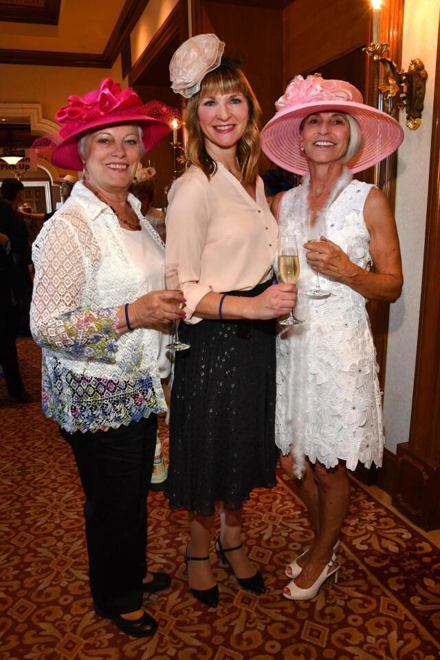 Sue Evarts, Becky Strahm, Pam Warnock