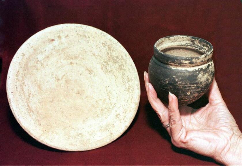 Vista de varias piezas de la civilización fenicia. EFE/Archivo