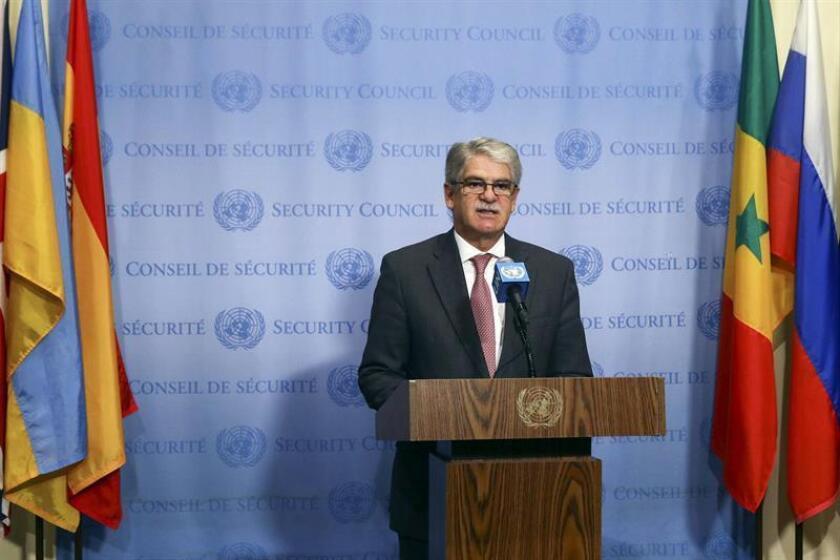 El Consejo de Seguridad de la ONU aprobó hoy por unanimidad una resolución que refuerza las medidas en vigor para evitar que los grupos terroristas y otros actores no estatales puedan hacerse como armas de destrucción masiva. EFE