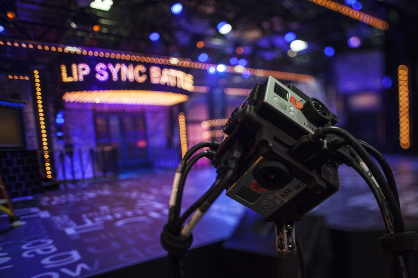 "Clips taken from 10 episodes of ""Lip Sync Battle"" will debut on Samsung's Milk VR app."