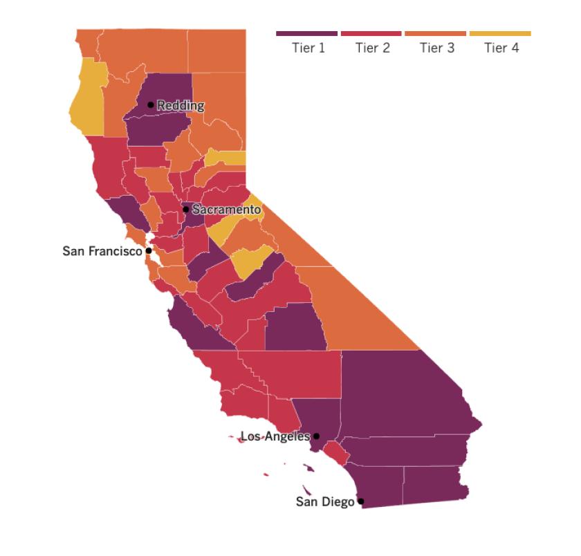 Coronavirus Today California S Big Backslide Los Angeles Times
