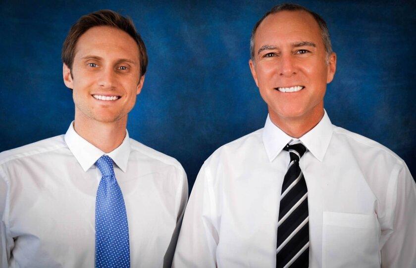 U.S. Bank mortgage loan originators Nathan Jones and John Hicks.