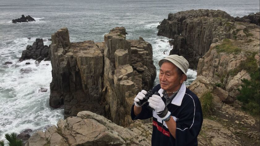 At Japan's suicide cliffs, he's walked more than 600 people back