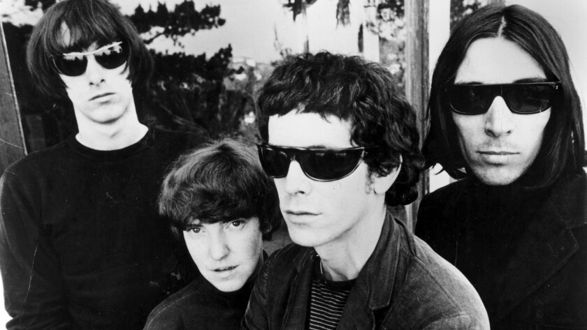 The Velvet Underground in 1967.