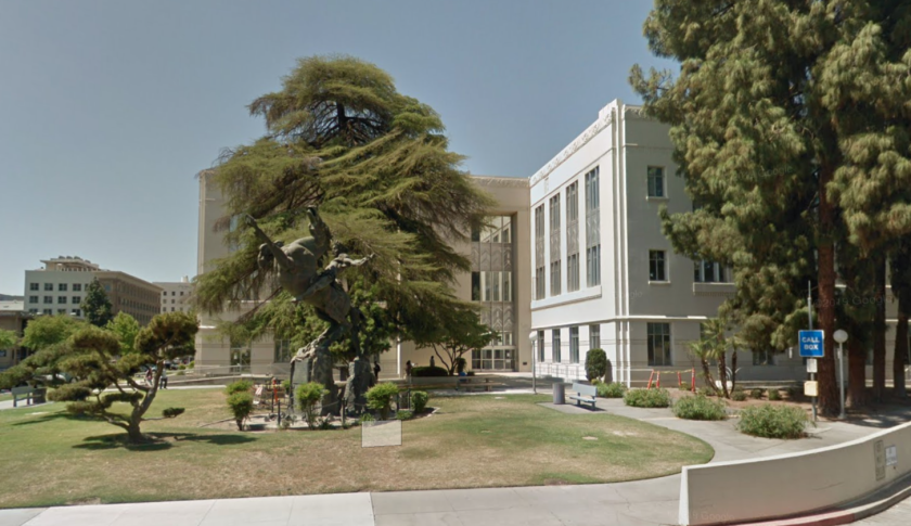 The Fresno County administrative building in downtown Fresno.