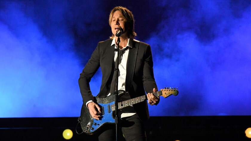 "Keith Urban performs ""11th Annual ACM Honors"" on CBS."
