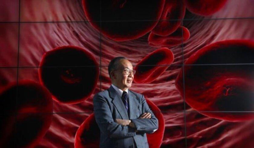 UC San Diego bioengineer Shu Chien