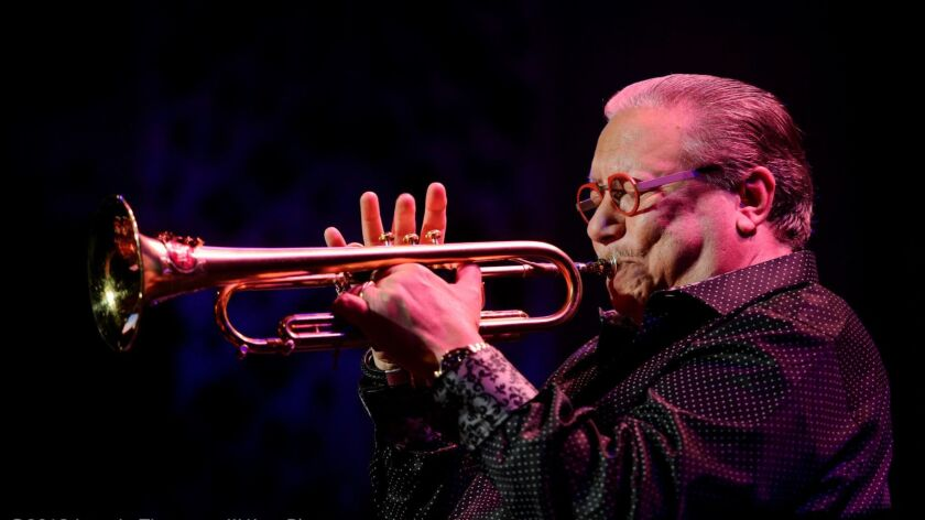 Arturo Sandoval performs at The Smith Center for the Performing Arts – Cabaret Jazz in Las Vegas o