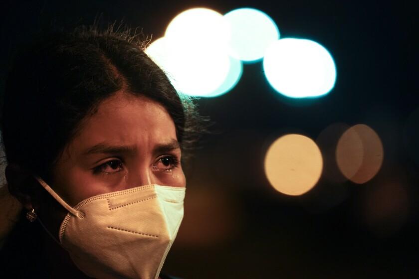 Marely, de 12 años, DE El Salvador