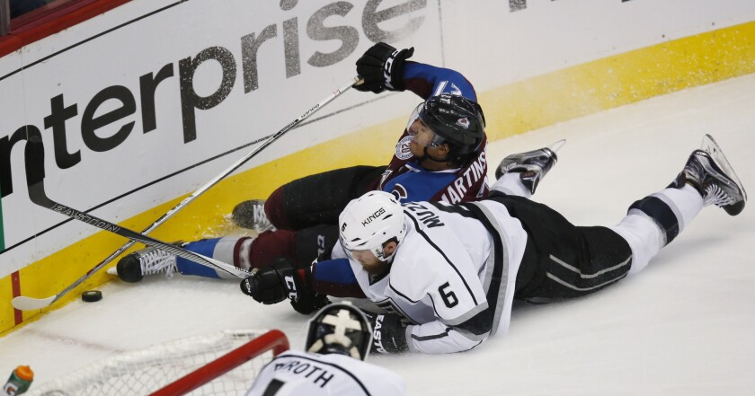 Kings bowled over in 4-1 loss as Jarome Iginla scores 600th goal
