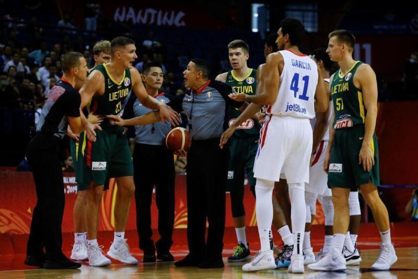 55-74. Lituania no da opción a Dominicana en su despedida del Mundial