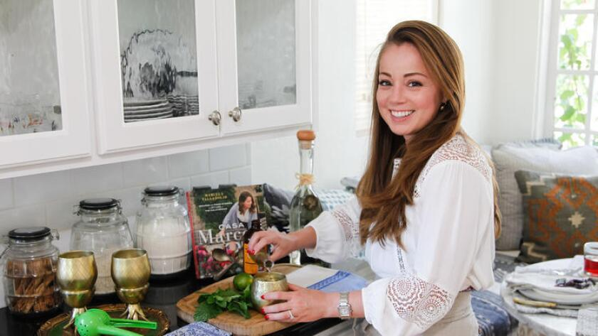 TV personality and author Marcela Valladolid.