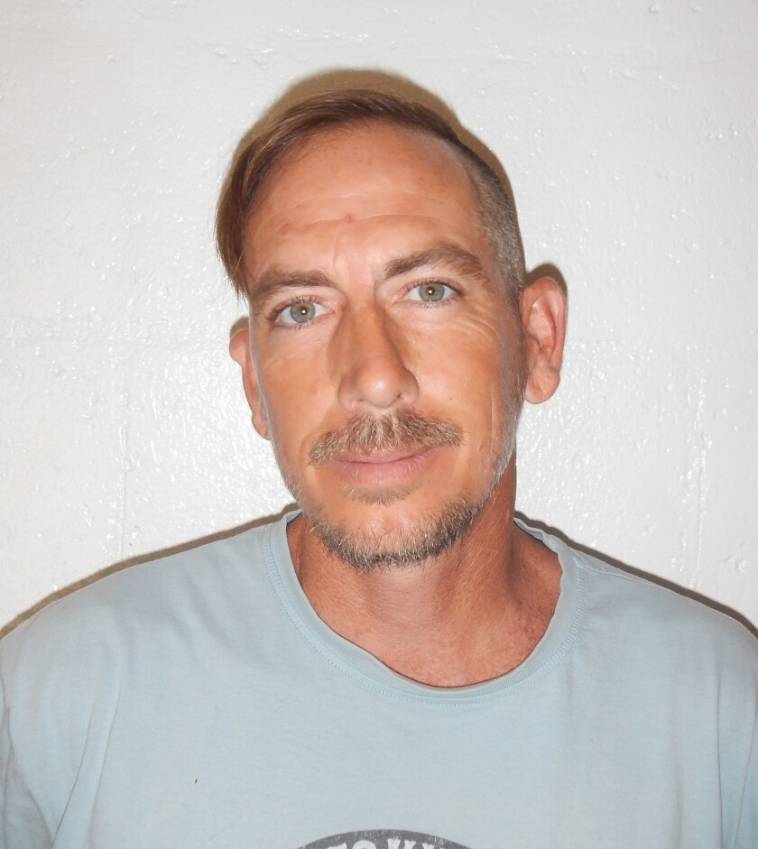 Marcus Kelly booking photo