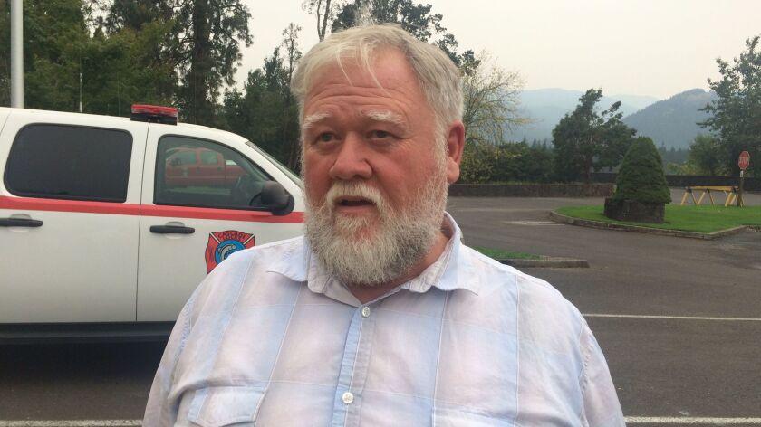Tom Cramblett is the mayor of Cascade Locks, Ore.